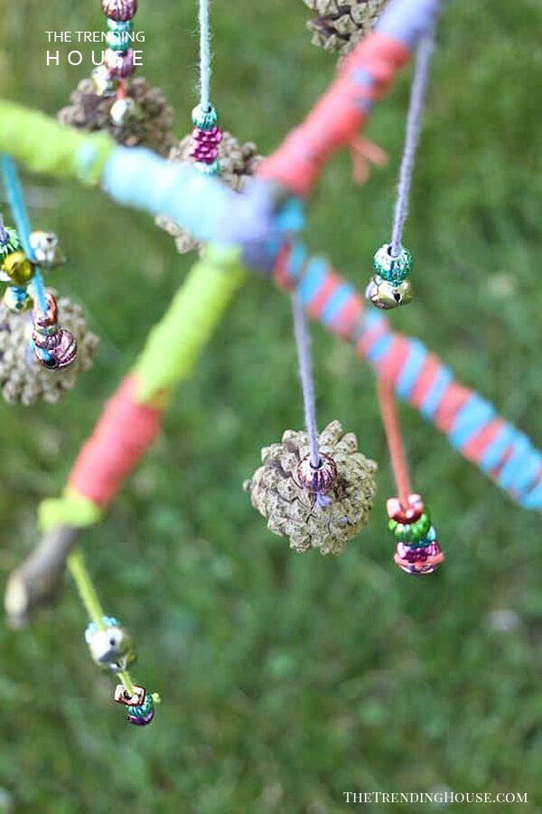 Use Outdoor Materials for a Nature-Inspired Mobile