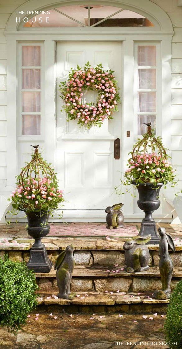Use Plants to Create an Inviting Entryway