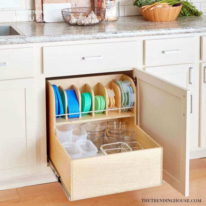 Using Organizers Better Utilizes Closets and Cupboards