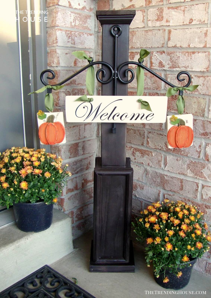 Welcome Post Ideas for Halloween