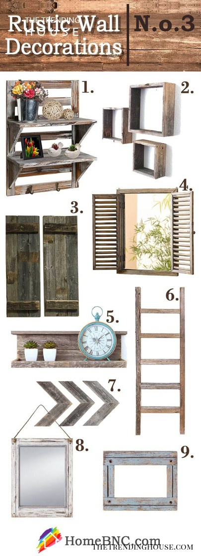 Wooden Shelving and Decor
