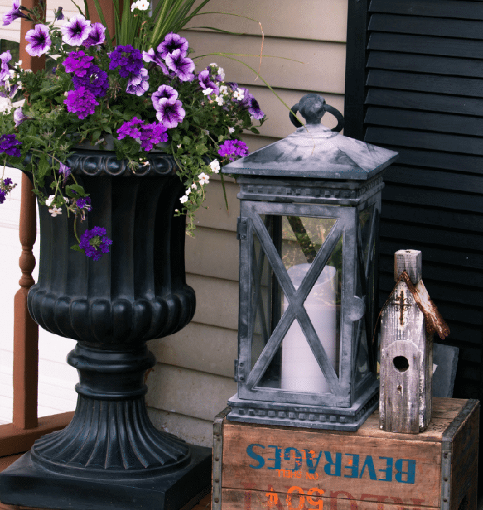 Wooden Shipping Crate End Table